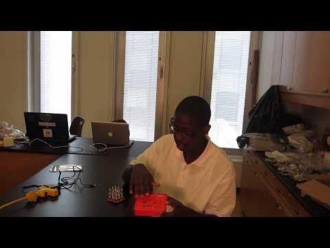 Ali's LED Cube Milestone