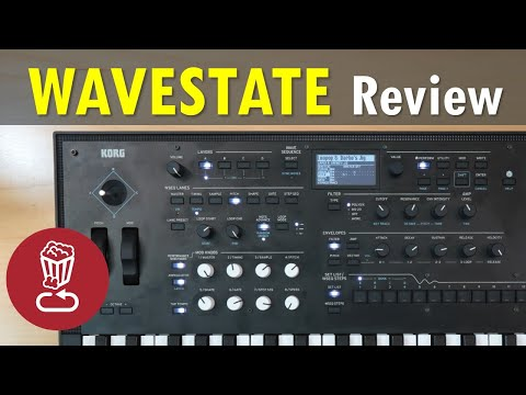 Korg WAVESTATE // Review and full tutorial // Wave sequencing and Vector synthesis explained