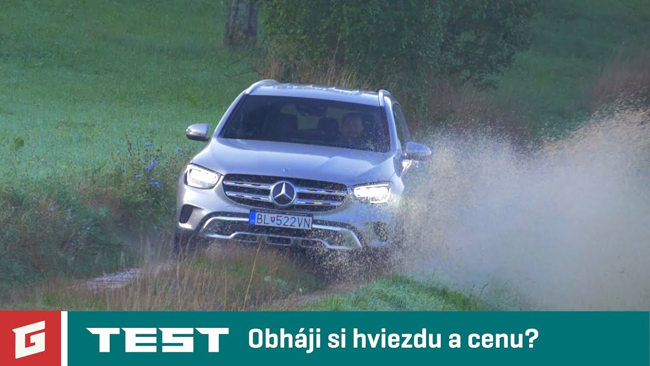 MERCEDES GLC 300d 4MATIC - SUV - TEST - GARAZ.TV - YouTube