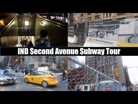 MTA New York City Subway: Future IND Second Avenue Subway (Phase I) Tour
