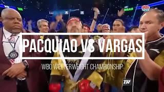 Pacquiao VS Vargas Full Highlights (HD)