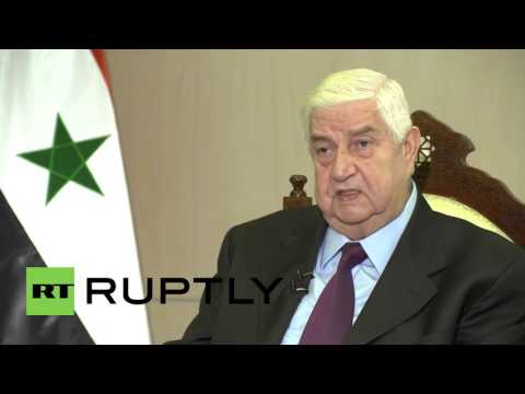 Syria: FM Muallem praises Russian role in 'war against ISIS'
