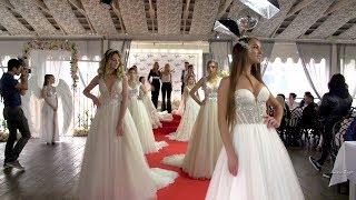 Показ свадебных платьев. Свадебный салон Идеаль. Ресторан Чабарок Гомель.