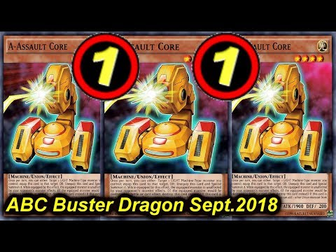【YGOPRO】ABC BUSTER DRAGON DECK *september 2018*