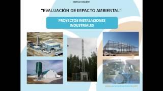 Curso sobre Evaluación del impacto ambiental de proyectos