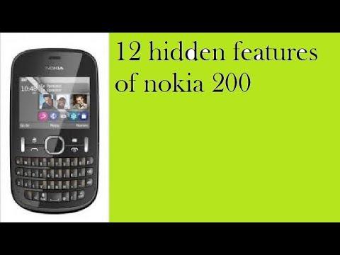 12 hidden features of Nokia 200