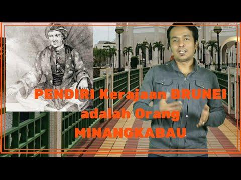 Orang Minang Pendiri Kerajaan Brunei Darussalam