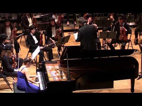 Rhapsody in Blue de Gershwin  -Alexandra Lescure (piano) & Jean-Philippe Dambreville (direction)