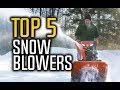 ▶️ Best Snow Blowers in 2017!