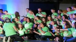 Young Americans zeigten mit Schülern der Johannisbergschule Musicalshow thumbnail