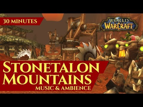Stonetalon Mountains - Music & Ambience (30 minutes, 4K, World of Warcraft Vanilla)