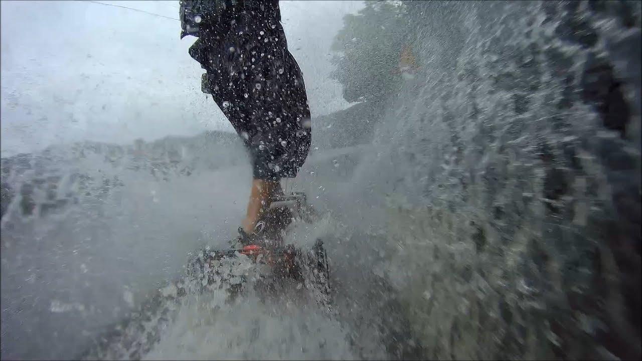 CRAZY RC] 스마트 모빌리티 전동보드 트람파 우중 라이딩 예고편 Electric Mountain Board trampa Riding on rainy days