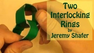 Fold 2 Interlocking Rings By Jeremy Shafer