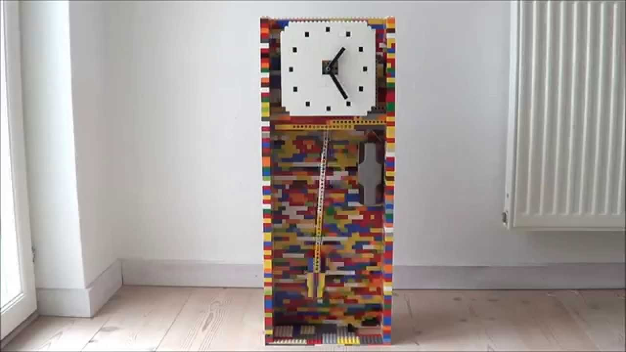 Lego Pendulum Clock Youtube
