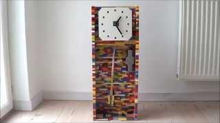 Lego Pendulum Clock