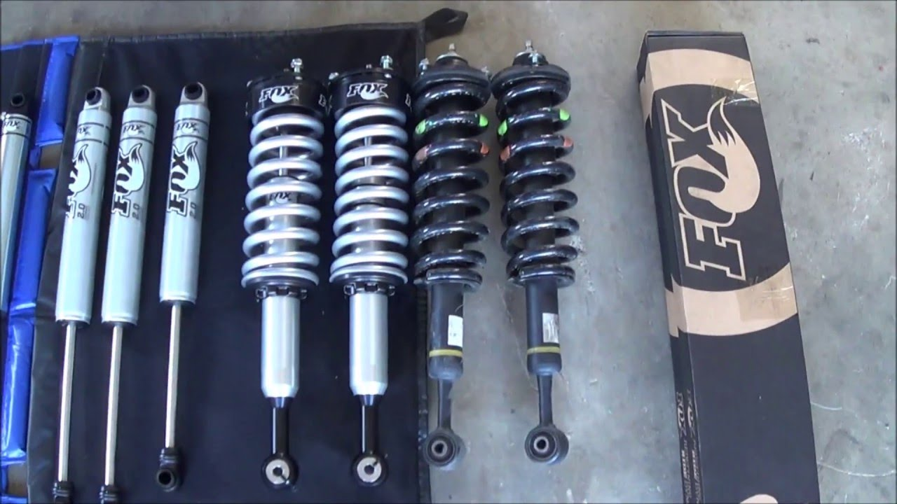 Fox Shocks Toyota Hilux N70 N80 Youtube