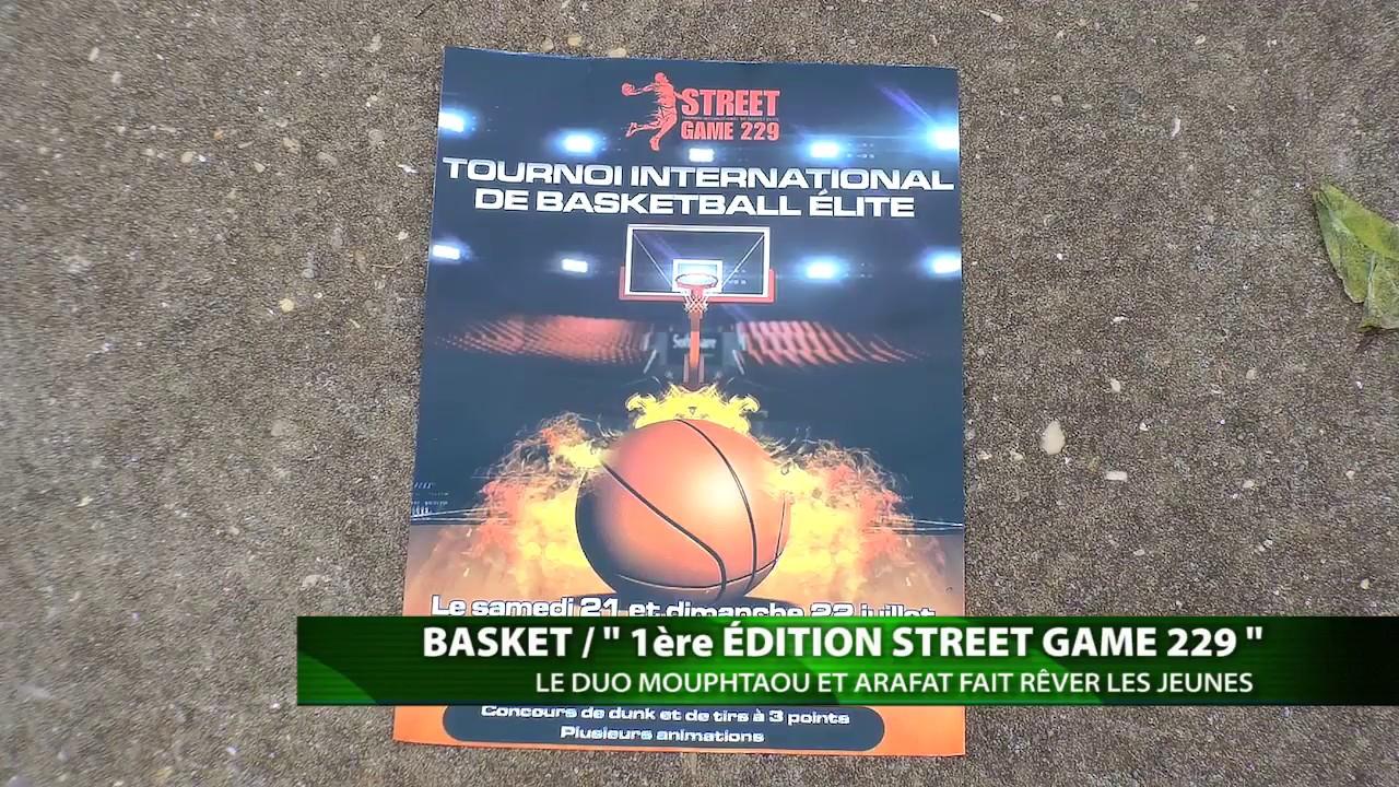 BENIN  BASKET 1ère ÉDITION STREET GAME 229