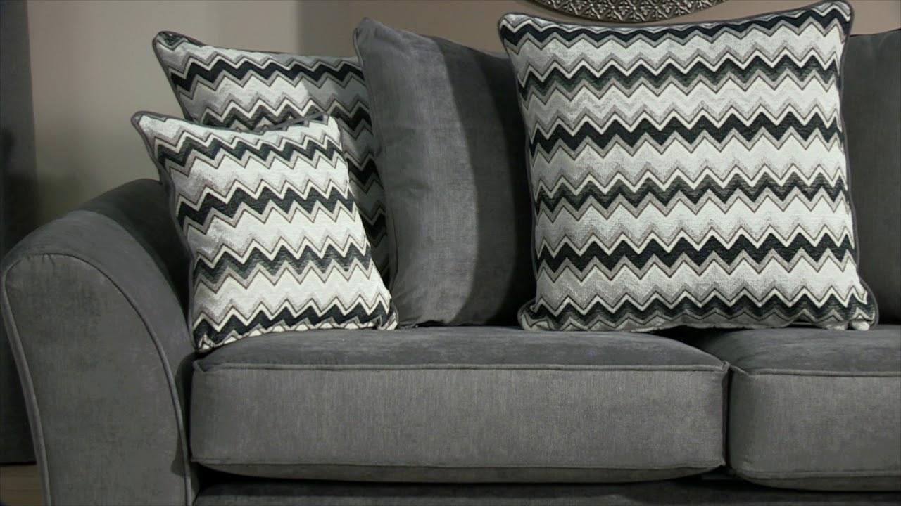 Cleveland 3 Seater Sofa Standard Back Scs