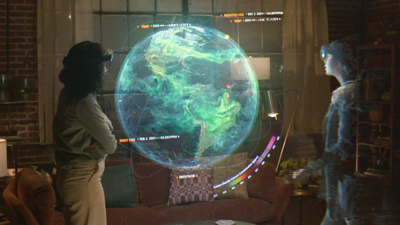 Microsoft Mesh Holographic Communication Tech | HYPEBEAST