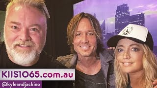 Keith Urban Co Hosts The Kyle Jackie O Show KIIS1065