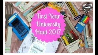 Loughborough University First Year Haul 2017: Primark, Dunelm, Stationary