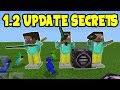 MINECRAFT POCKET EDITION 1.2 UPDATE SECRETS! // Minecraft PE 1.2 UPDATE SECRET FEATURES!