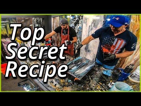 Black Blue and White Secret Epoxy Recipe | Stone Coat Countertops