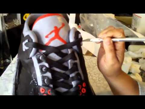 Yes Its Really a CAKEAir Jordan 3 Shoe YouTube