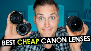 Best Canon Lens for Video — Top 3 Cheap Canon Lenses for YouTube(, 2016-07-14T17:29:17.000Z)