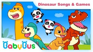 Dinosaur songs & Animation | Kids Songs collection | Nursery Rhymes | BabyBus | Baby Panda