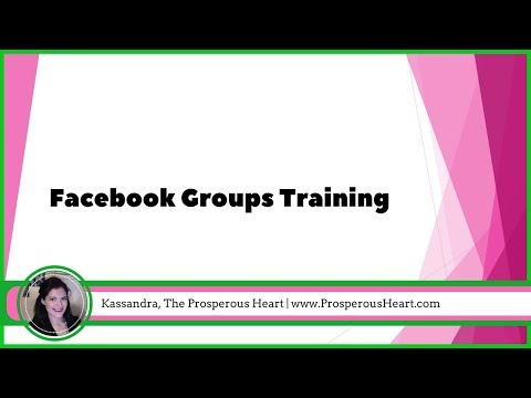 Facebook Groups Tutorial 2017