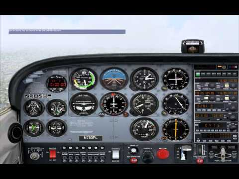FSX LEARNING CENTER Instrument Pilot Instrument Rating Checkride (no autopilot, no pause)