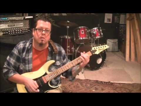 Manilla Road - Crystal Logic - Guitar Lesson by Mike Gross