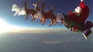 Space Santa - Santa's journey around the world - Christmas Spirit