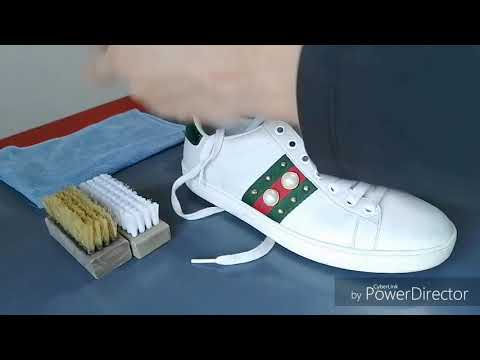 How to clean Studded Gucci Ace