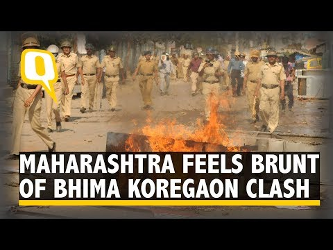 Bhima Koregaon Violence: Mumbai Simmers Amid Call For Maharashtra Bandh | The Quint