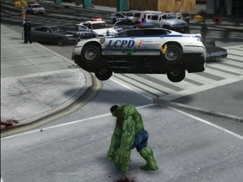 GTA X Scripting: HULK script - GTA iV - Release post and