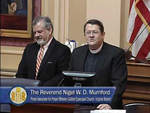 Delegate Jason Miyares: Rev. Nigel Mumford Delivers Prayer on the House Floor
