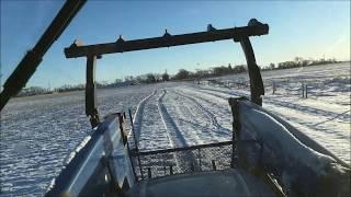 Feeding and hauling feed
