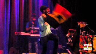 Sizzla & the Firehouse Crew live 2012 @ Melkweg, Amsterdam - Be Strong