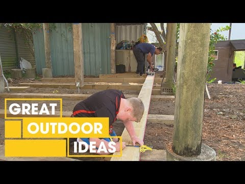 Building a Tool Shed for a Kid: Part 1 | Outdoor | Great Home Ideas
