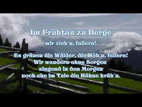 Im Frühtau zu Berge (Karaoke Jazzkantine-Cover) Yamaha Tyros 4
