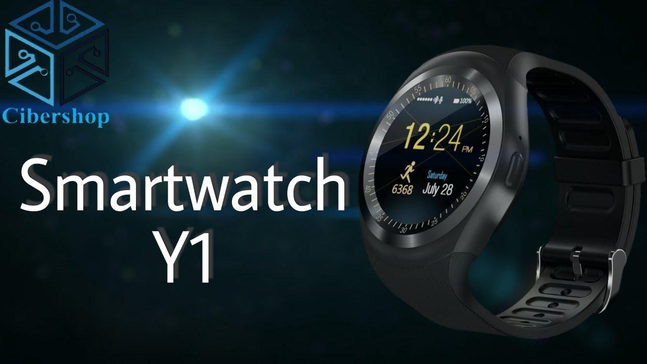 Barato bonito Español Y Review Smartwatch En Y1bueno unboxingamp; zUMGqSVp