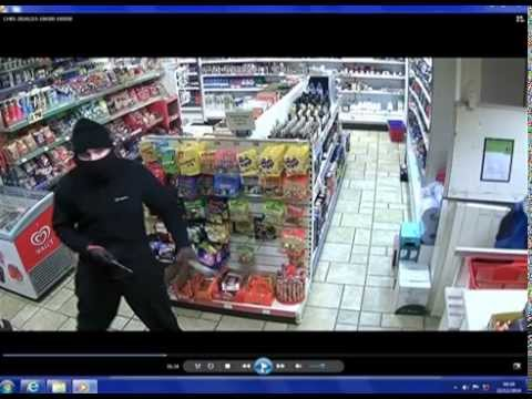CCTV captures armed robbery at garage in Petworth