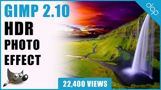 Create HDR Photo - GIMP 2.10 Tutorial - [ High Dynamic Range Photo Tutorial ]
