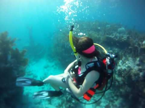 Scuba Diving the Christ of the Abyss in the Florida Keys