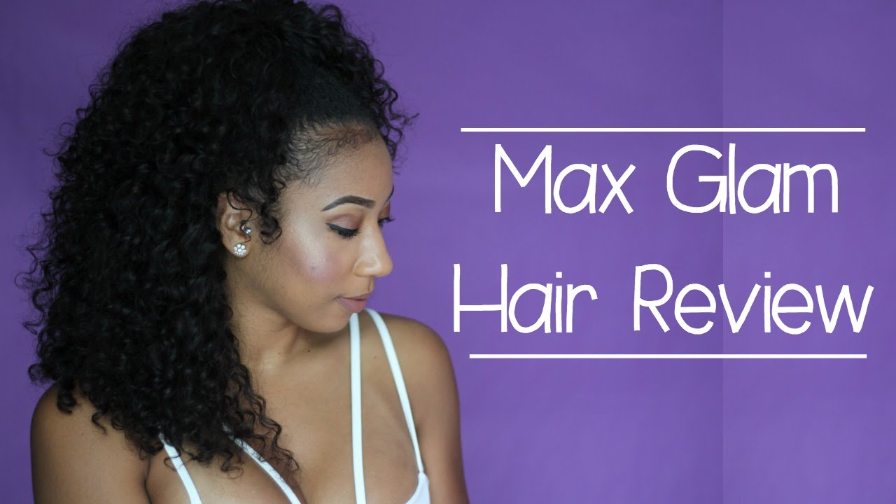 MaxGlam Hair Aliexpress Brazilian