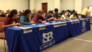 Middle School FINALS SWPA Regional Science Bowl 2013