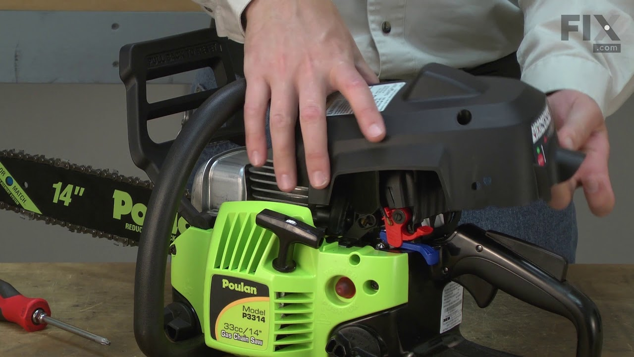 Poulan Chainsaw Repair - How to Replace the Spark Plug