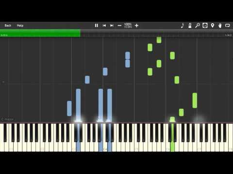 Gingitsune (ぎんぎつね) - Mysterious Soundtrack [Piano Tutorial] (Synthesia)